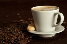 Free Cup Of Coffee Stock Image - 13791301
