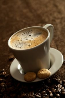 Free Cup Of Coffee Royalty Free Stock Images - 13791319