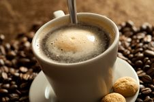 Free Cup Of Coffee Stock Images - 13791344