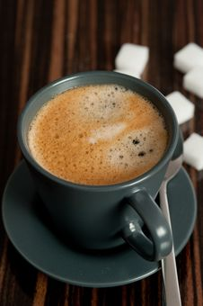 Free Cup Of Coffee Stock Photo - 13791360