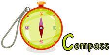 Free Alphabet C For Compass Royalty Free Stock Photos - 13791628