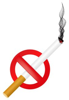 Free No Smoking Sign Royalty Free Stock Photos - 13791848