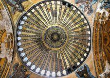 Free Hagia Sophia Ceiling, Istanbul Stock Photo - 13792460