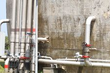 Free Pipes Royalty Free Stock Image - 13792606