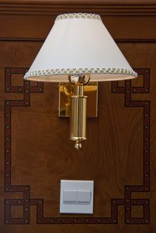Free Bedside Lamp Royalty Free Stock Photo - 13792925