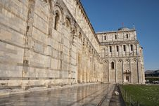 Free Light Snow In Piazza Dei Miracoli, Pisa, Italy Royalty Free Stock Photos - 13793168