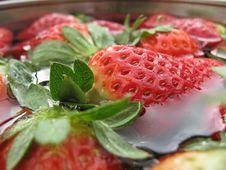 Free Strawberries Royalty Free Stock Image - 13793266