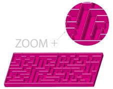 Free Maze In 3D Cartoon Style Stock Photo - 13793360