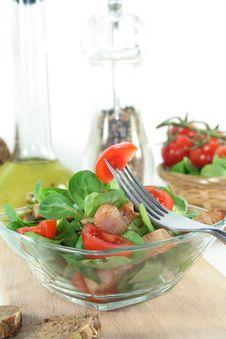 Free Mixed Salad Royalty Free Stock Photography - 13793847