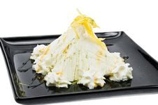 Free Ice Cream Green Tea Stock Image - 13793931
