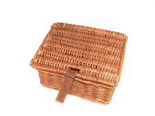Free Picnic Basket Royalty Free Stock Photo - 13793935