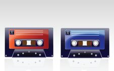 Free Audio Cassettes Royalty Free Stock Image - 13794116