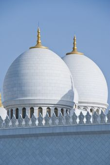 Free A Pair Of Domes Against Clear Skies Royalty Free Stock Photos - 13794458