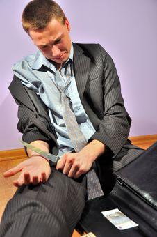 Free Depressed Businessman Stock Photos - 13794593