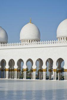 Free Courtyard Of A Mosque Stock Photos - 13795033