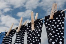 Free Washday Blues Royalty Free Stock Images - 13795519