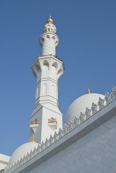 Free The Minaret And The Dome Stock Photo - 13795550
