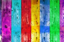 Free Colorful Wood Stock Photography - 13795682