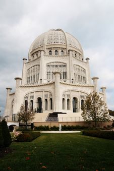 Free Bahai House Of Worship Stock Photography - 13796092