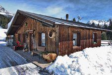 Free Snow On The Dolomites Mountains, Italy Stock Photos - 13796223