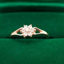 Free Ring In Box Royalty Free Stock Photography - 13796457