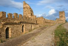 Free Medieval Genoese Stronghold Stock Photo - 13796530