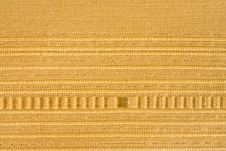 Free Yellow Striped Fabric Background Royalty Free Stock Images - 13796539