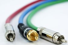 Free Component Video Cable Royalty Free Stock Photos - 13796818
