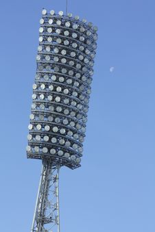 Free Lamp Stadium Stock Photo - 13796870