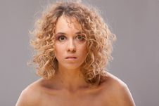 Free Passion Curly Women Stock Photos - 13796983
