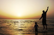 Free Father And Son Stock Photos - 13797623