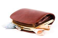 Free Purse And Coins Royalty Free Stock Photos - 13797978