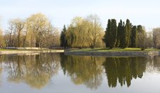 Free The Spring Park Stock Photography - 13798072