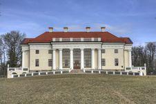 Pakruojis Manor Palace (Lithuania) Royalty Free Stock Images