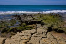 Free Scene Of Sky, Sea, Waves And Sandy Beach. Stock Photo - 13798500