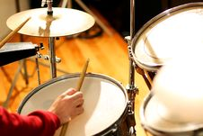 Free Drummer 2 Royalty Free Stock Photo - 13798555
