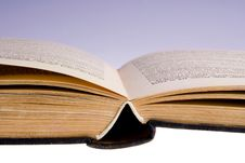 Free Open Old Book Royalty Free Stock Photography - 13798607