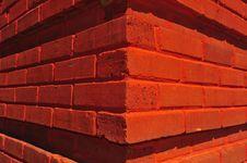 Free Red Brick Corner Stock Image - 13798991