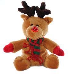 Free Rudolph Stuffed Animal Stock Photo - 13799210