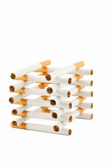 Free Smoking Addiction Is A Prison Stock Photos - 13799553