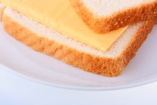 Free Two Slices Of Bread Royalty Free Stock Photo - 13799885
