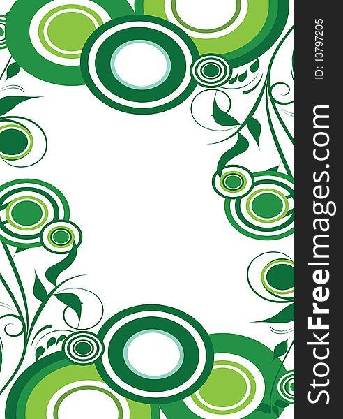 Circle decorative design