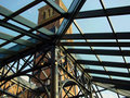 Free St Johns Cathedral Tower From The Inside Of A Glass Atrium Stock Images - 1388544