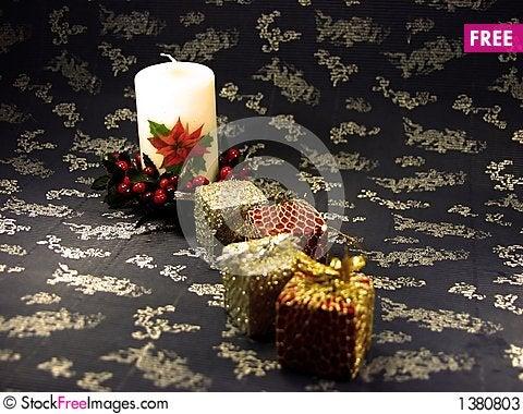 Christmas box Stock Photo