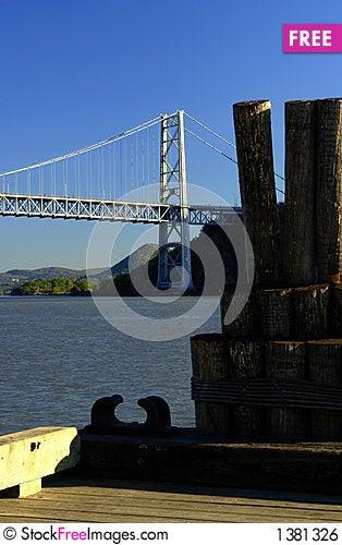 Bear Mountain Bridge in Hudson Valley, NY Stock Photo