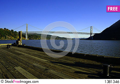 Bear Mountain Bridge in Hudson Valley, NY Stock Photo