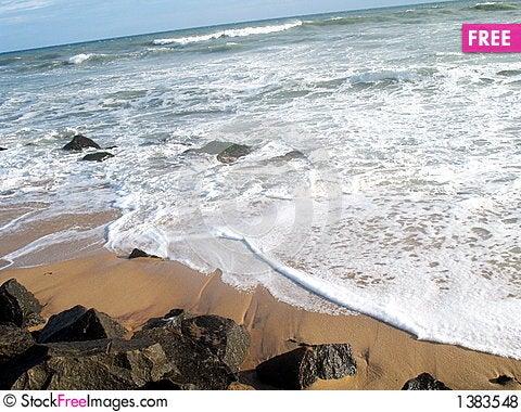 Nice view of ocean Stock Photo