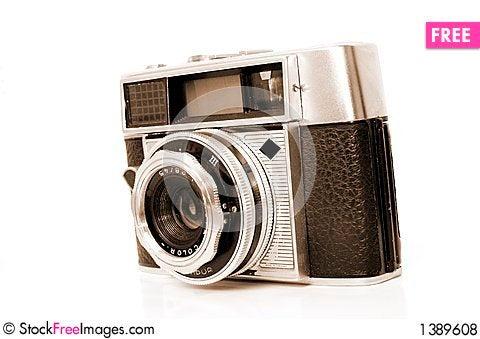 Aged camera Stock Photo