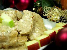 Free Christmas Dinner Stock Photography - 1381012