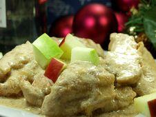 Free Christmas Dinner Royalty Free Stock Image - 1381016